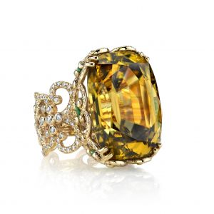 Zircon Isabelle Ring