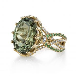 Csarite Crossover Ring