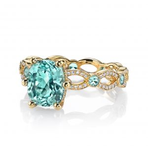 Pariba Tourmaline Annalise Ring