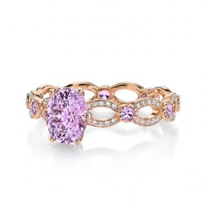 Pink Sapphire Annalise Ring