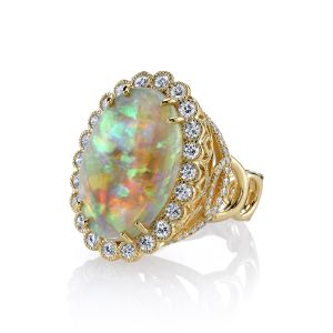 Opal Easter Egg Ring
