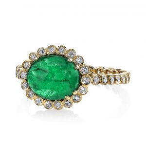 Emerald Zoey Ring