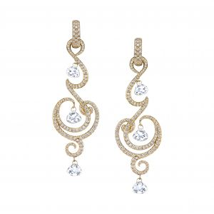 Diamond Genie Earrings