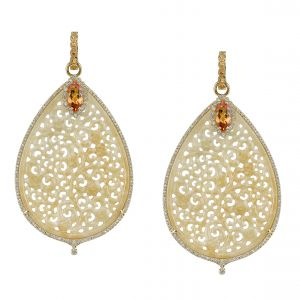 Honey Jadeite Earrings