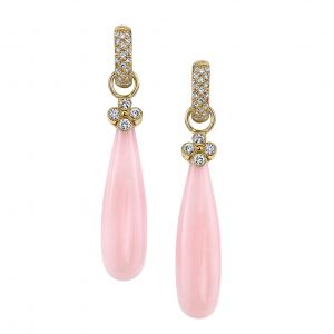 Pink Opal Jubilee Earrings