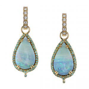 Ocean Dream Opal Earrings