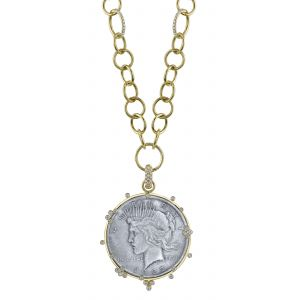 Dollar Coin Liberty Pendant
