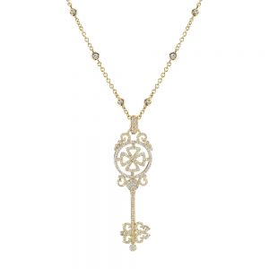 Key Cross Pendant
