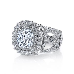 Empress Cushion Cut Ring