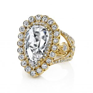 Nirvana Pear Shaped Ring