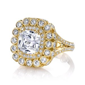 Lolo Cushion Cut Ring
