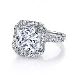 Madison Radiant Cut Ring