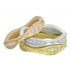 Peapod Rings Trio