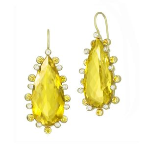 Canary Beryl Earrings