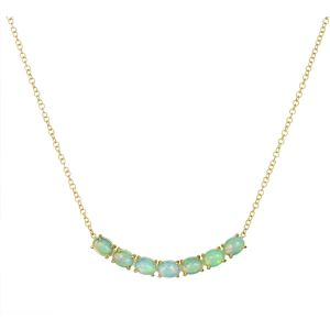 Opal Trapeze Necklace