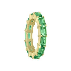 Green Tourmaline Band