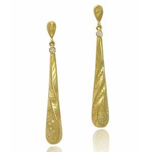 Long Tear Drop Earrings