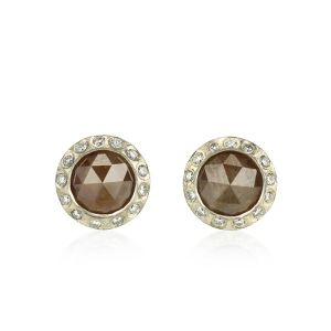 Colored Diamond Studs