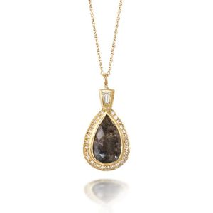 Pear Diamond Pendant