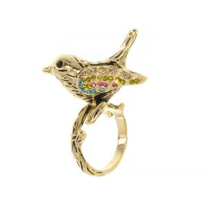 Bird and Twig Ring