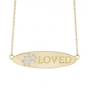 Hashtag Loved Pendant