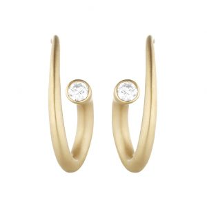Whirl Diamond Earrings