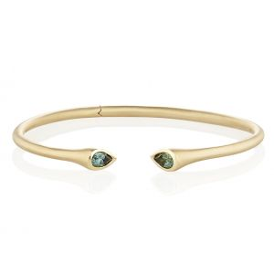Whirl Tourmaline Bangle