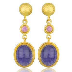 "Tanzanite ""Olivia"" Earrings"