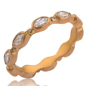 Diamond Peach Glow Band