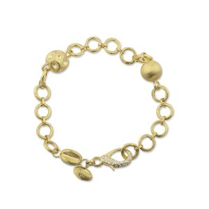 Gold Reflections Bracelet