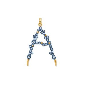 Dylan Letter A Necklace