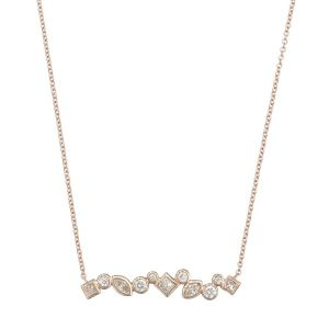 Diamond Multibar Necklace