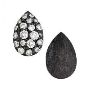 Pear Shape Stud Earrings