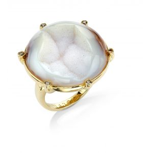 Drusy Agate Ring