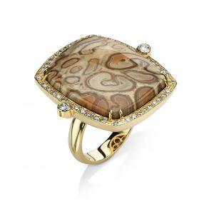Xaxim Fossil Ring