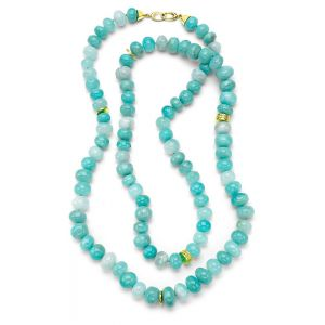 Peruvian Blue Opal Necklace