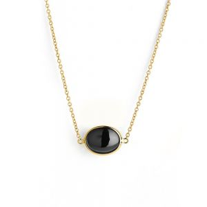 Black Spinel Pendant
