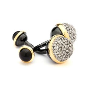 Chamapgne Diamond Cufflinks