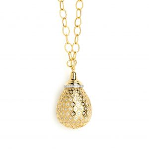 Yellow Gold Drop Pendant