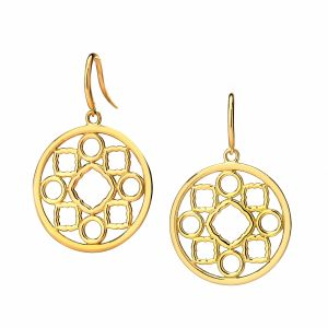 Mogul Medallion Earrings