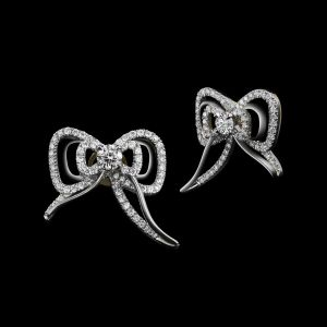 Bow Stud Earings