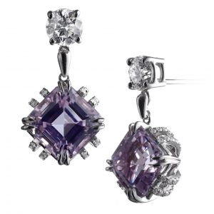 Kunzite Drop Earrings