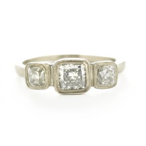 Etruscan Three Diamond Ring