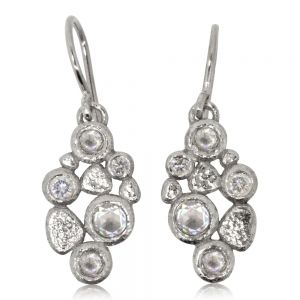 Diamond Pebbles Earrings