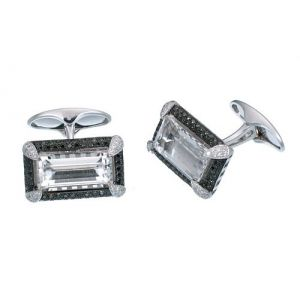 White Topaz Cufflinks