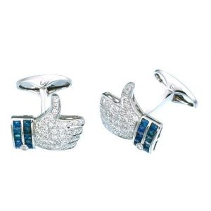 Onyx & Diamond Cufflinks