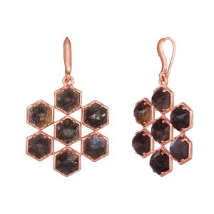 Ceres Grid Earrings