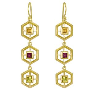 Ceres Trio Earrings