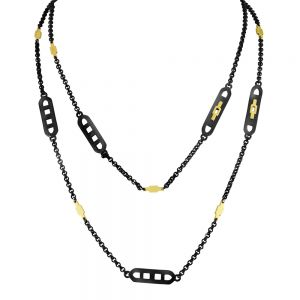Lucina Mix Edge Necklace