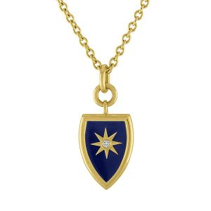 Celestial Shield Pendant